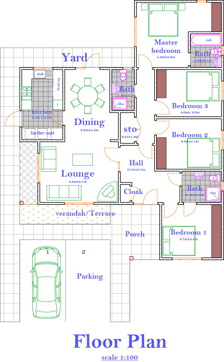 Improved bungalow