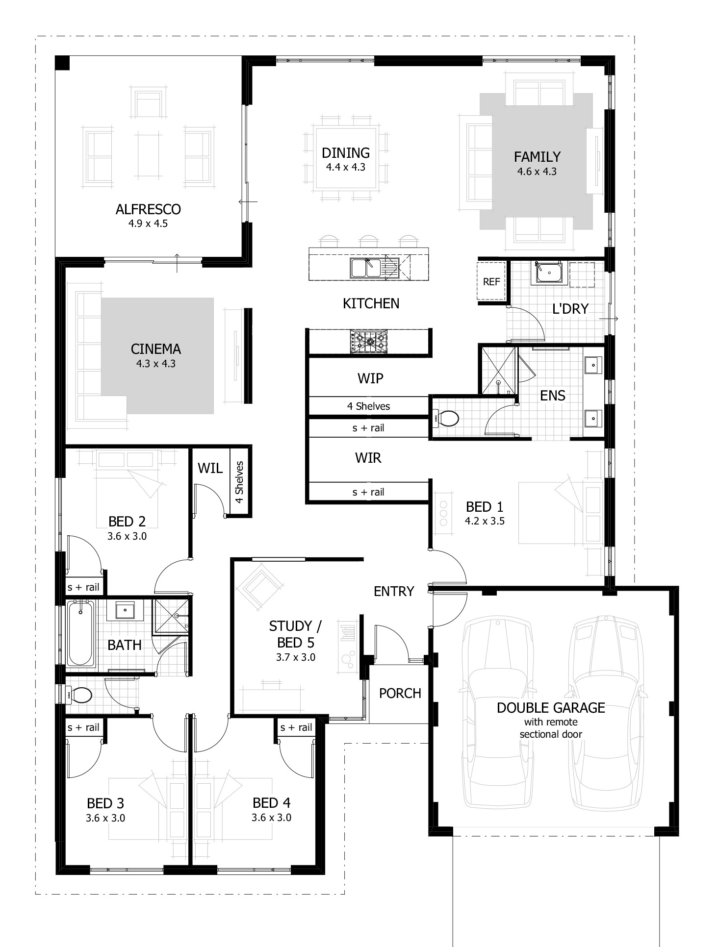 home design drawing 1