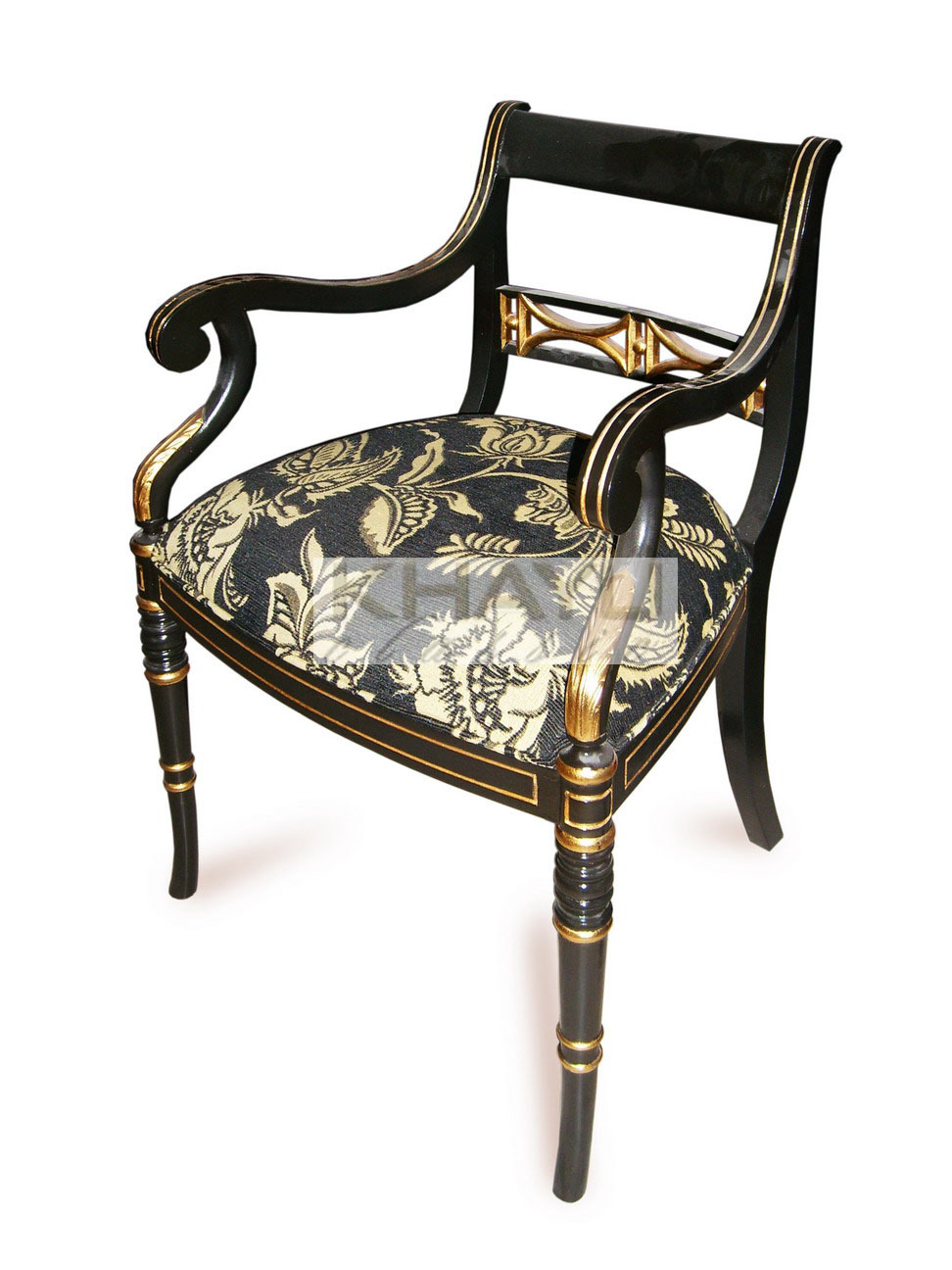 regency balluster chair