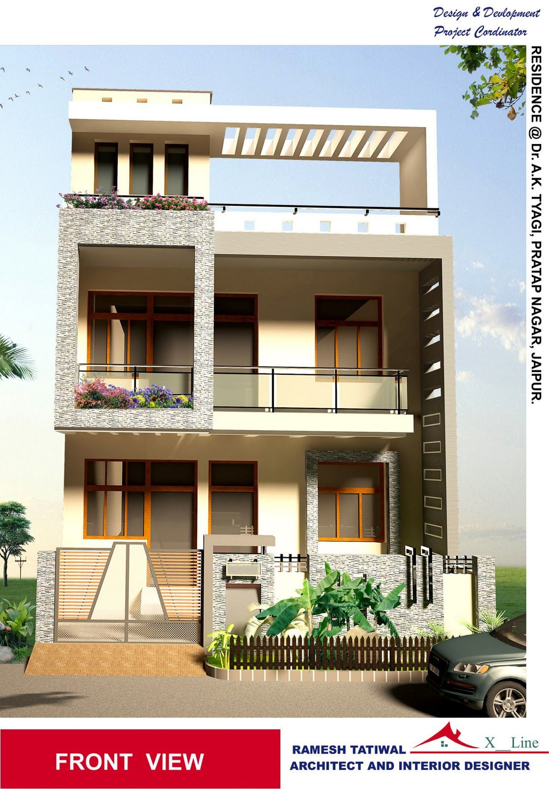 Front View Of A Simple House Best Of Adorable Style Simple Home Architecture
