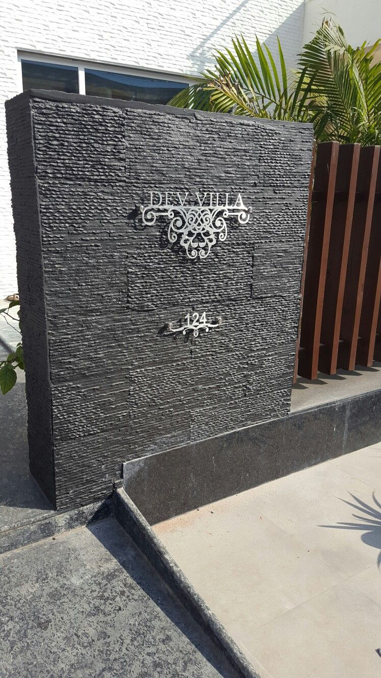 Gate and Wall Design for House Awesome Pin by Anupama sonpitale On Name the Number