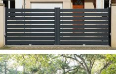 Gate And Wall Design For House Elegant High Quantity Boundary Wall Gate Design Aluminum Swing Gate