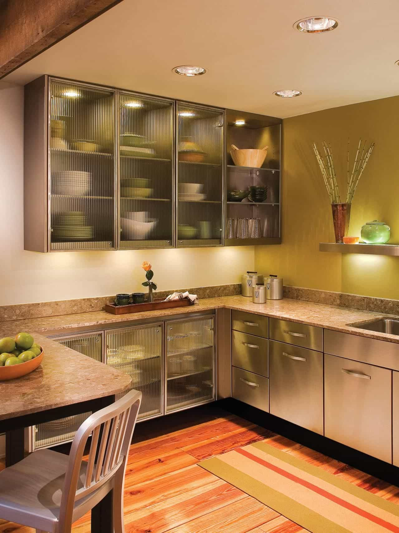 Glass Cabinet Doors Beautiful New 34 Modern Kitchen Design with Glass Cabinet