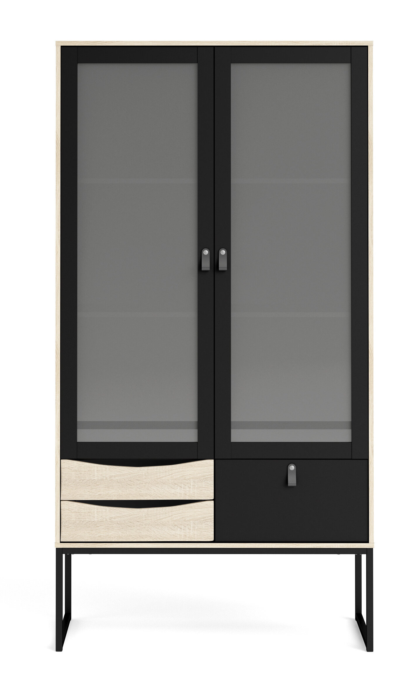 kendleshire 2 glass door china cabinet a