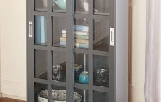 Glass Door Storage Cabinet Best Of Sliding Glass Door Storage Cabinets