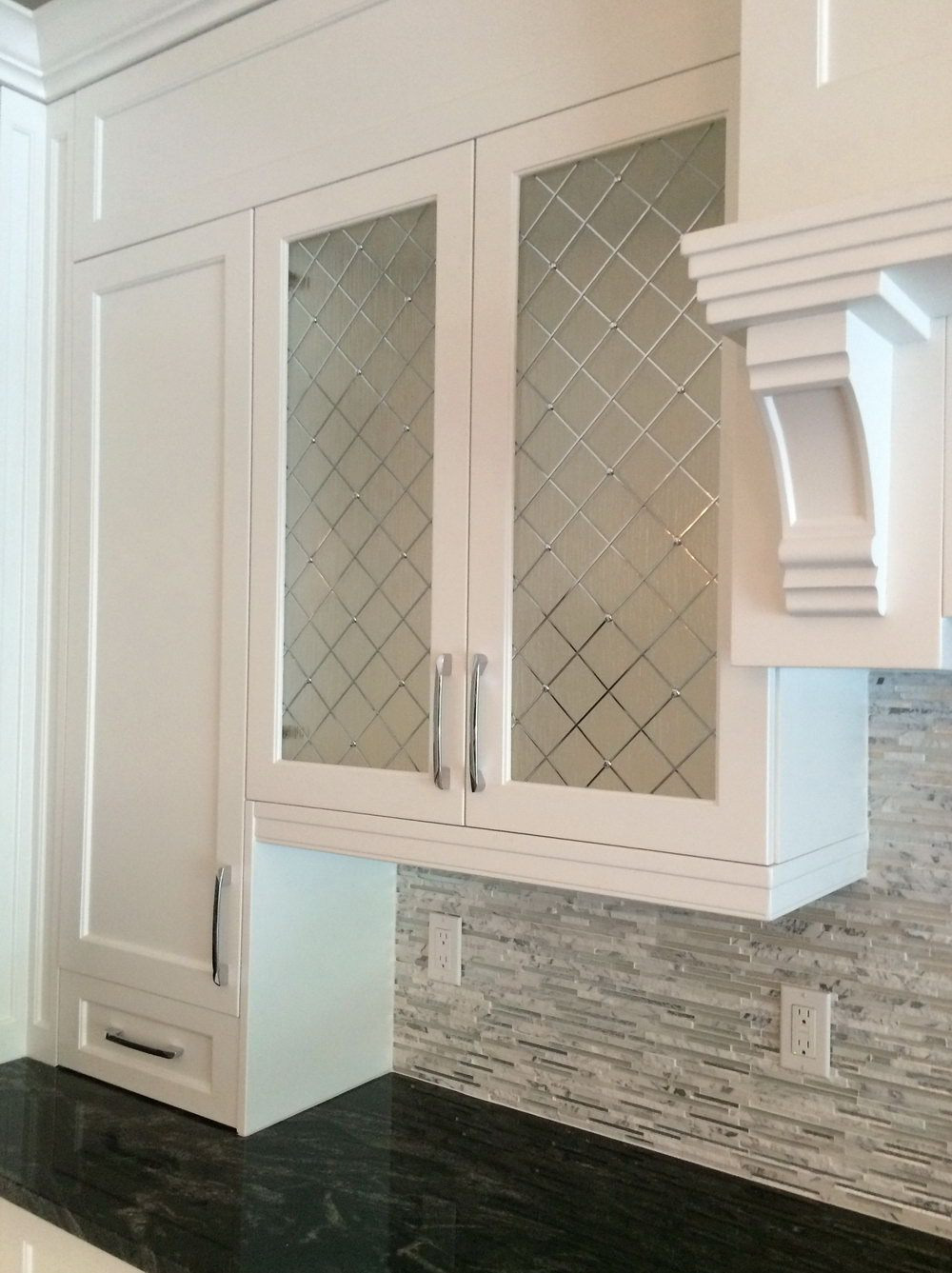beveled glass cabinet doors cabinet mullion inserts adding glass to kitchen cabinets