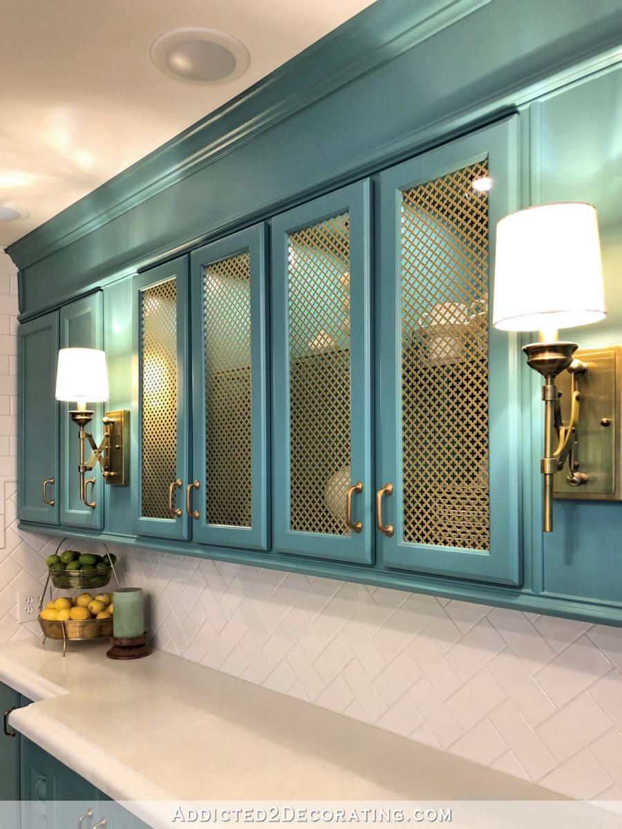 Glass Front Cabinet Doors Lovely How to Add Wire Mesh Grille Inserts to Cabinet Doors the