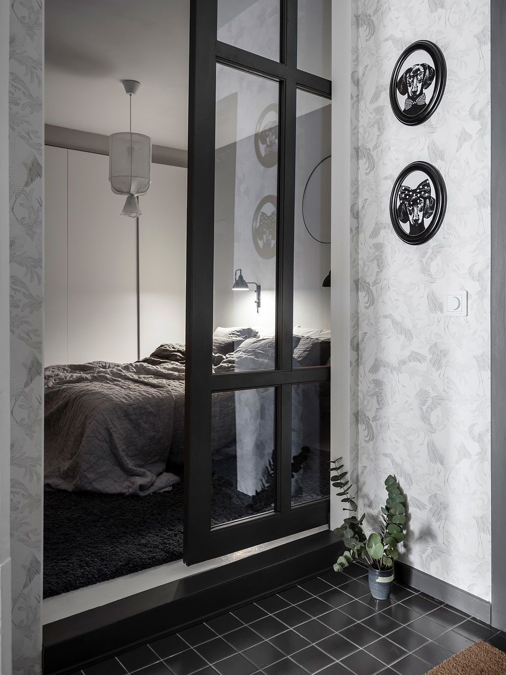Glass Partition Designs for Home Inspirational Hight Contrast Home with Glass Partitions