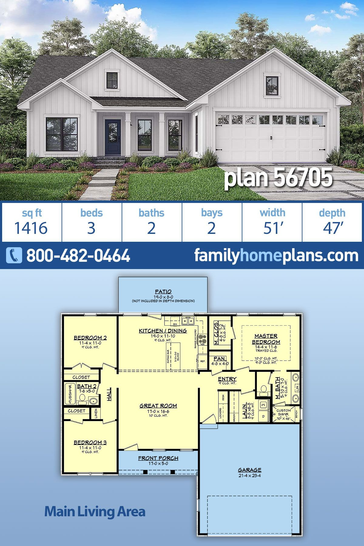 Great Small House Plans Inspirational Traditional Style House Plan with 3 Bed 2 Bath 2 Car