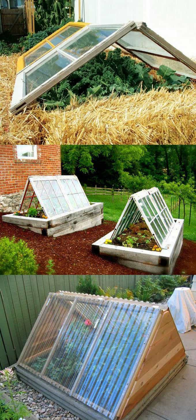 DIY greenhouse plans hoop house cold frame tutorials apieceofrainbow 9
