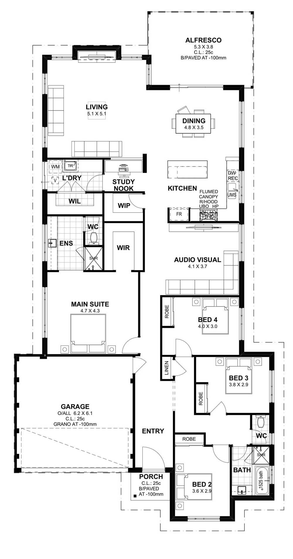 Home Builders House Plans New Aveling Homes Home Builders Perth