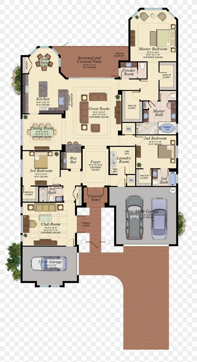 House and Floor Plans New Floor Plan Naples House Real Estate Property Png