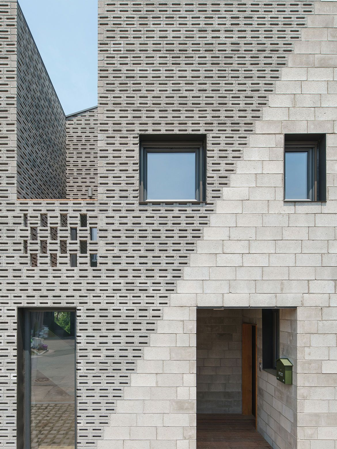 House for Two Families Lovely Two Families E House High Density Housing by Stpmj