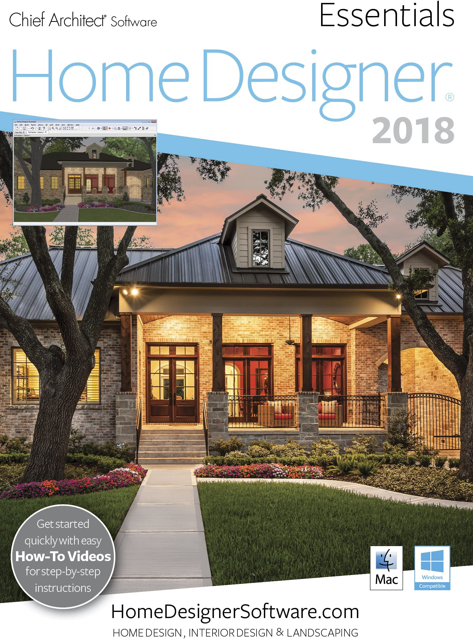 House Plan Design software for Mac Awesome Amazon Home Designer Essentials 2018 Mac Download