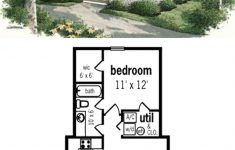 House Plans For Small Cottages Fresh Cottage Style House Plan 1 Beds 1 Baths 569 Sq Ft Plan 45