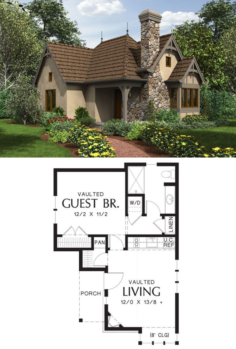 House Plans for Small Cottages New 27 Adorable Free Tiny House Floor Plans