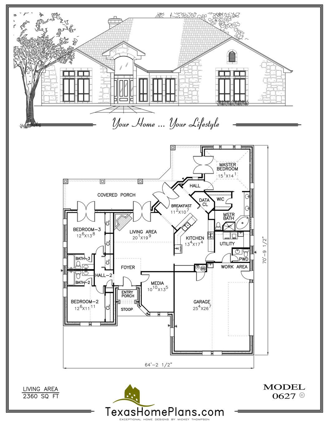 House Plans for Texas Awesome Texas Home Plans Texas Traditional Homes Page 26 27