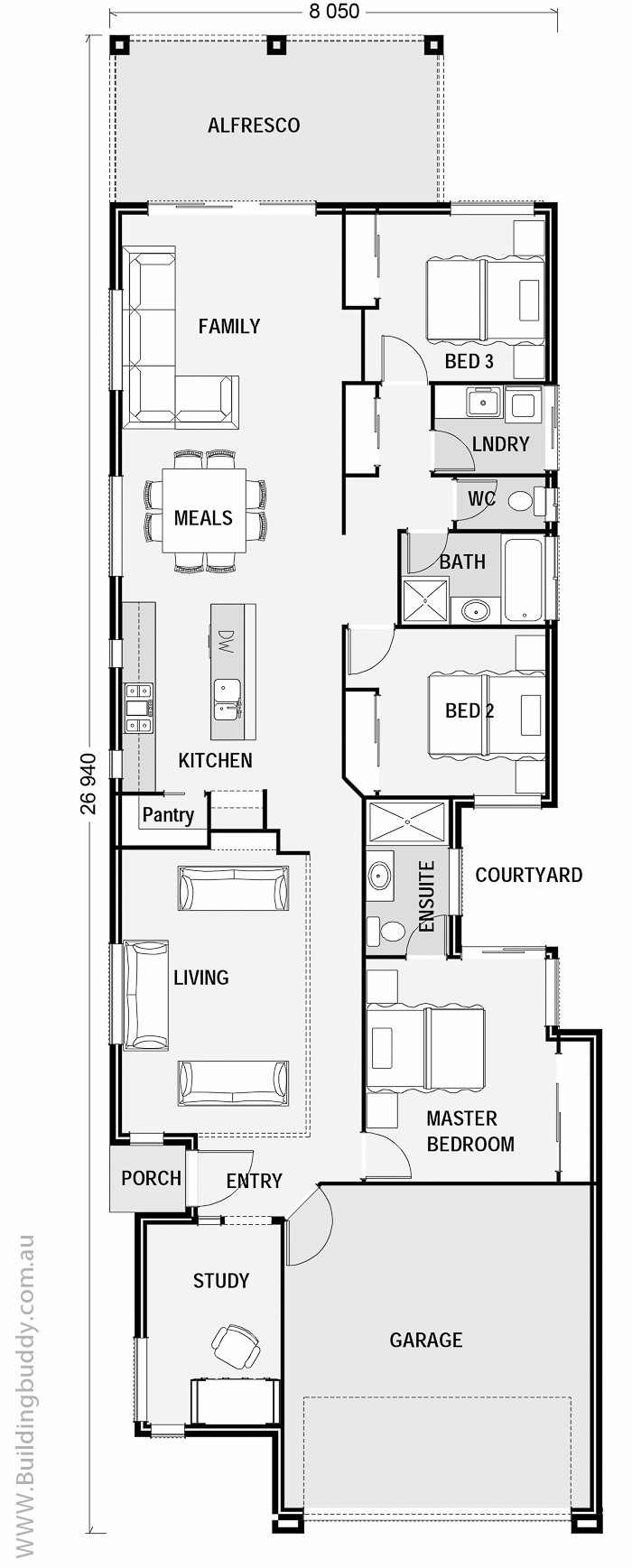 Floorplans Crows Ash Small Lot Lowset House