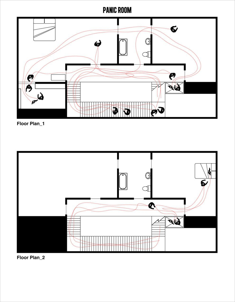 House Plans with A Safe Room Best Of Panic Room 2002