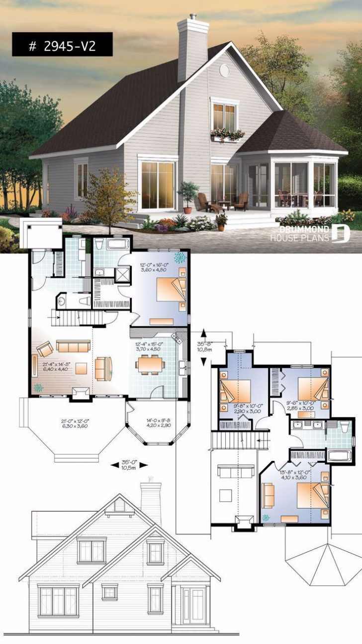 House Plans with Screened Porches 2021