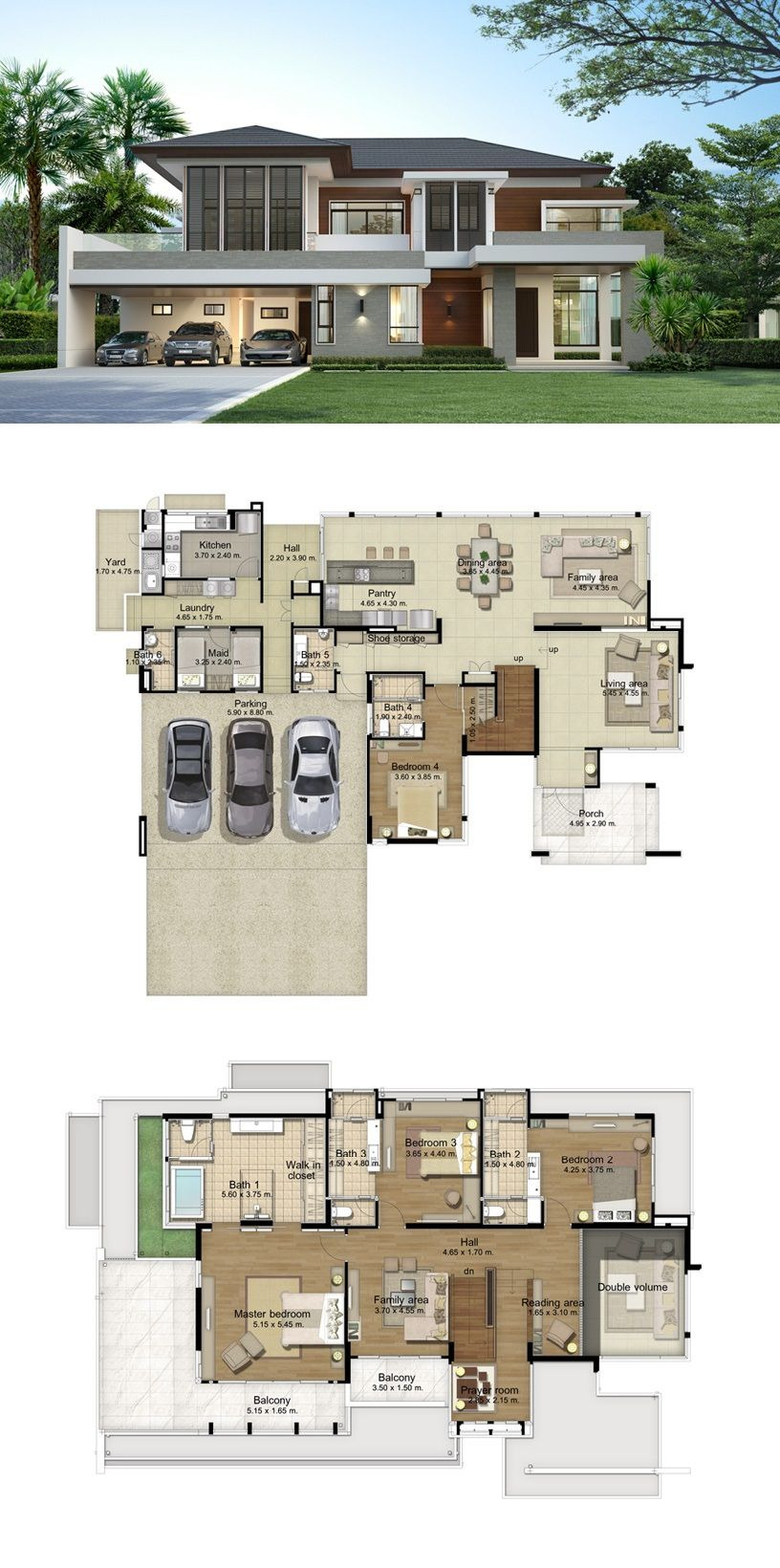 Houses and House Plans New Land and Houses
