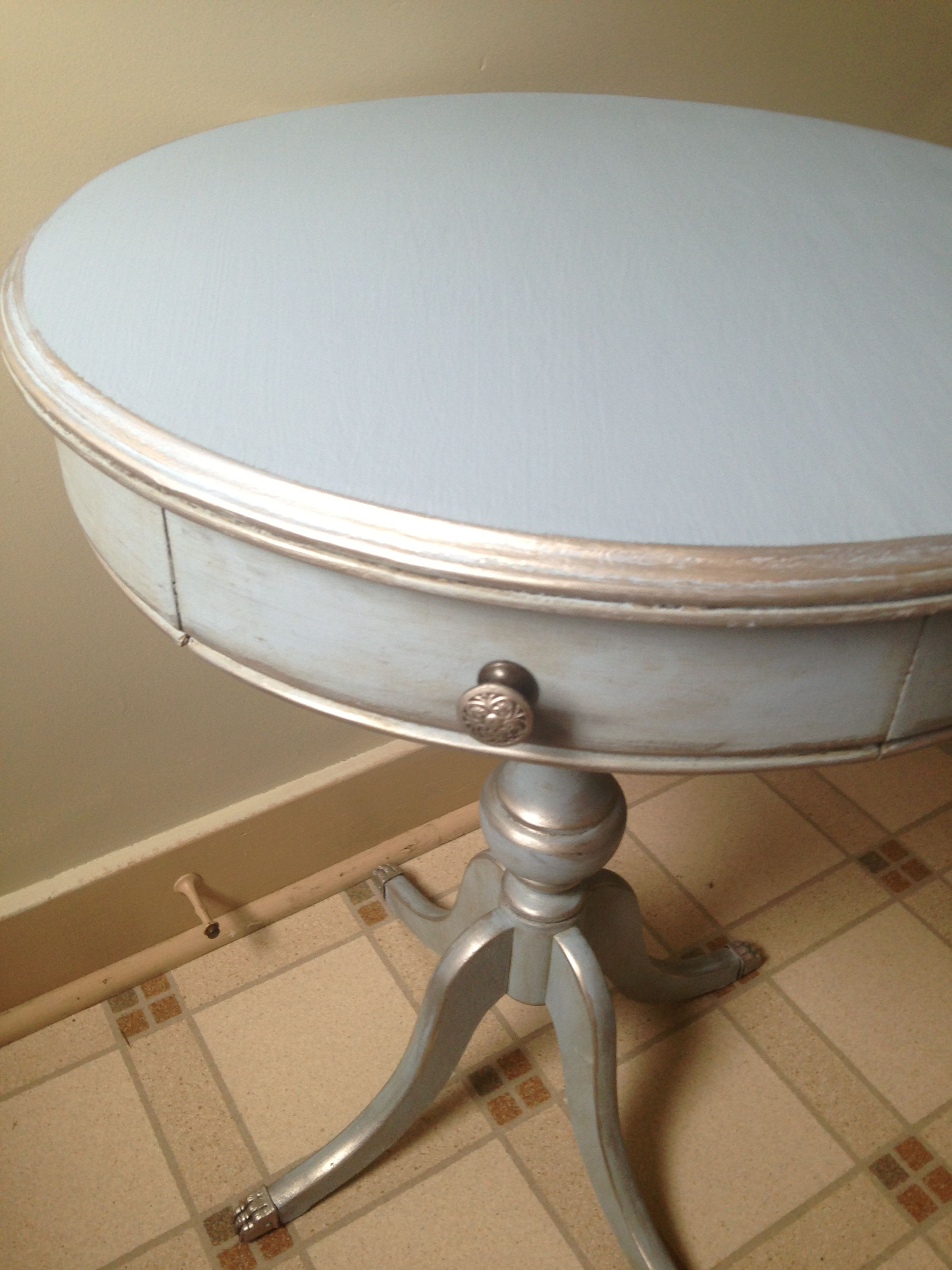 How to Antique Silver Leaf Furniture Fresh Pin On Chalk Paint Inspiration