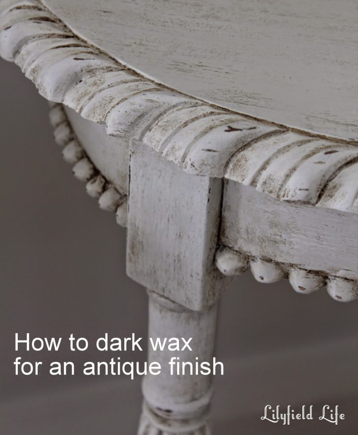 How to Antique White Furniture 2020