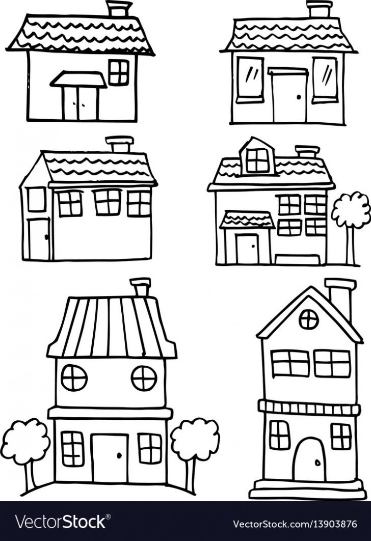 How to Draw A Pretty House 2020