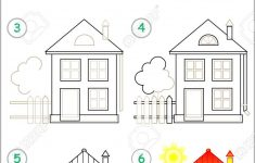How To Draw A Pretty House Best Of Page Shows How To Learn Step By Step To Draw A House Developing