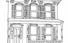 How To Draw A Pretty House Luxury House Sketch Easy At Paintingvalley