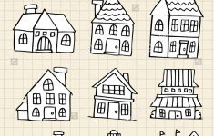 How To Draw A Pretty House New Cute Drawings House