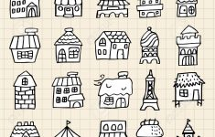 How To Draw A Pretty House Unique Cute Drawings House