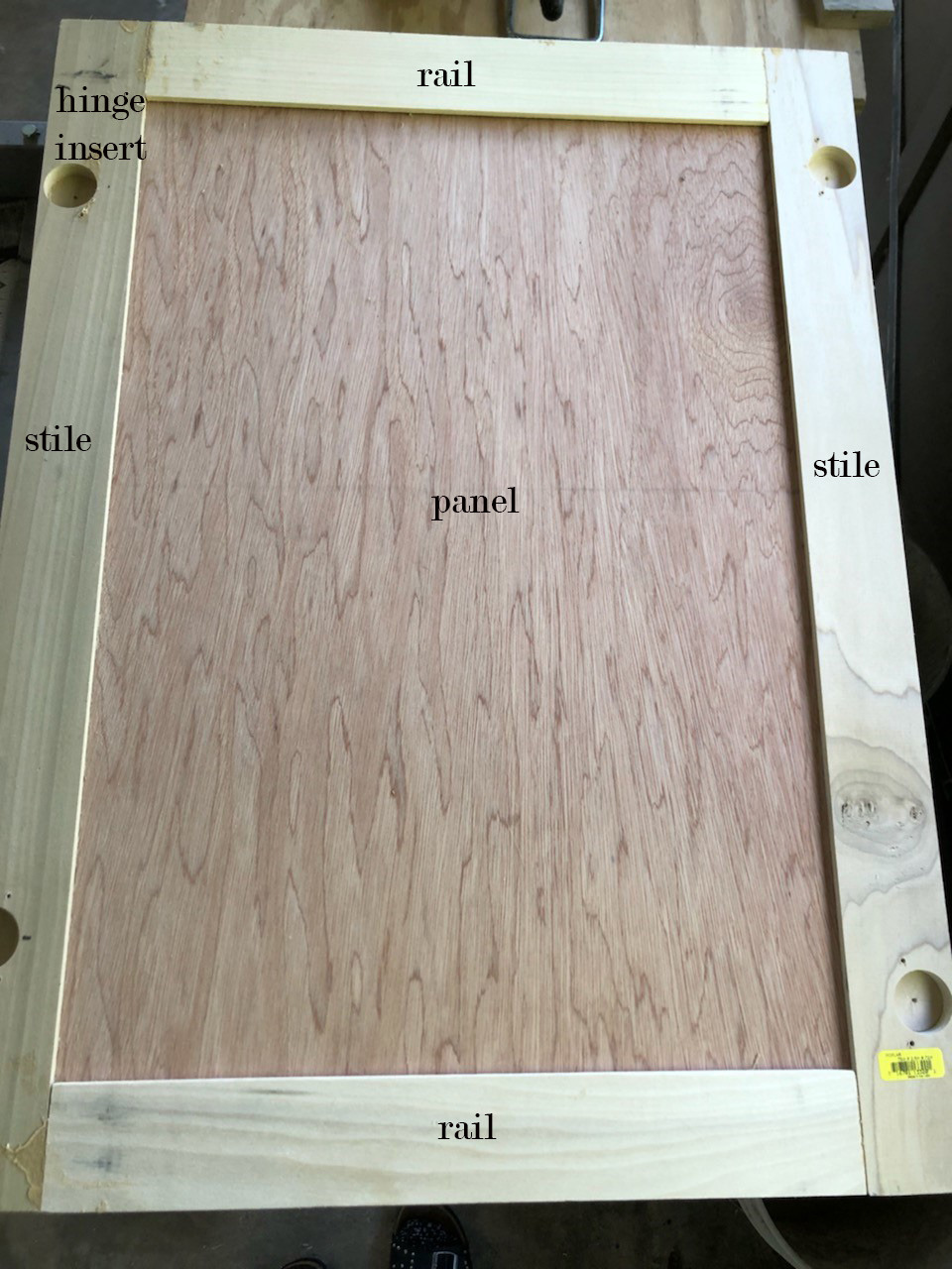 diy cabinet door diagram