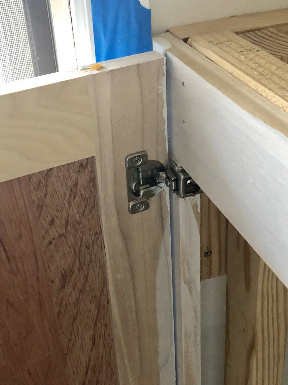 diy cabinet doors on lower cabinets