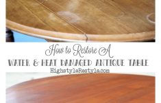 How To Repair Antique Furniture Best Of How To Restore Heat & Water Damaged Antique Dropleaf