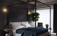 Industrial Modern Bedroom Design Fresh Warm Industrial Style House With Layout