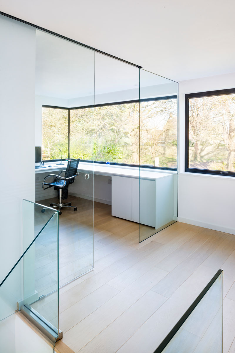 Interior Glass Walls for Homes Awesome Modern Home Office Glass Walls 1235 11