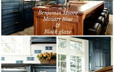 "Kitchen Cabinet Doors For Sale Luxury Benjamin Moore ""mozart Blue"" With Black Glaze Done By Heidi"