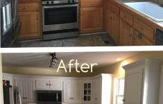 Kitchen Cabinet Doors Lowes Awesome Two Toned Cabinets Valspar Cabinet Enamel From Lowes