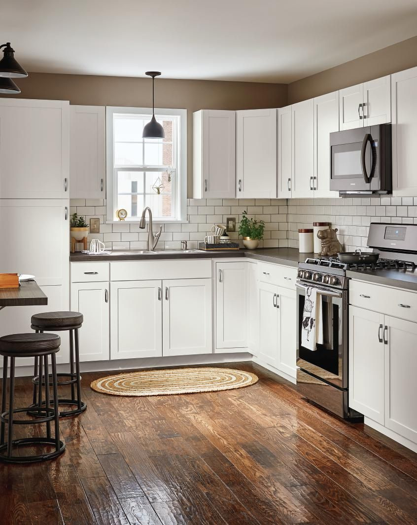 Kitchen Cabinet Doors Lowes Beautiful Diamond now at Lowe S Arcadia Collection Streamlined