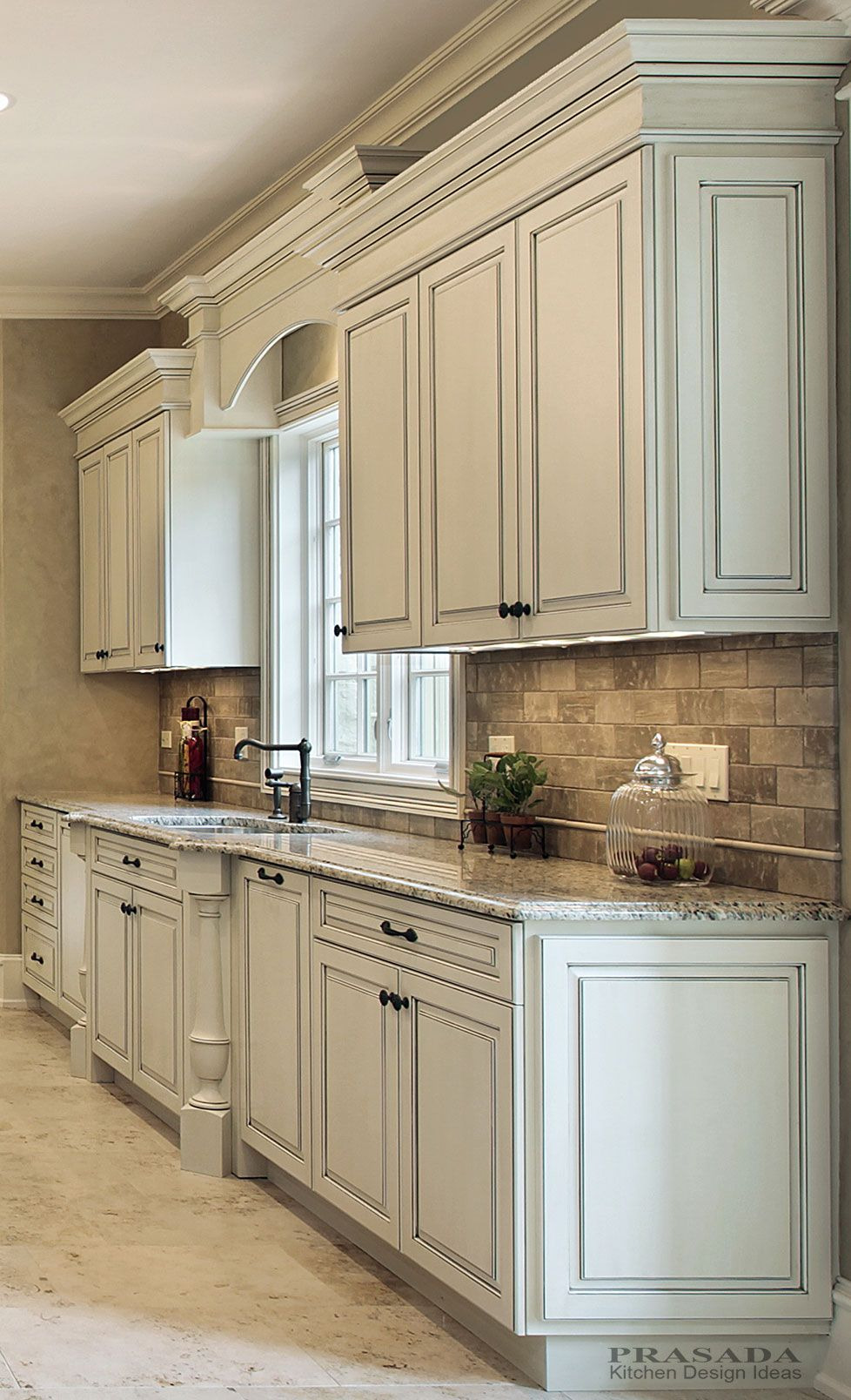 kitchen cabinet ideas color with black granite corner storage oak cabinets lowes white walls gallery design remodel