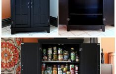 Kitchen Storage Cabinets With Doors Unique Instant Diy Pantry Cabinet An Easy Kitchen Storage Solution