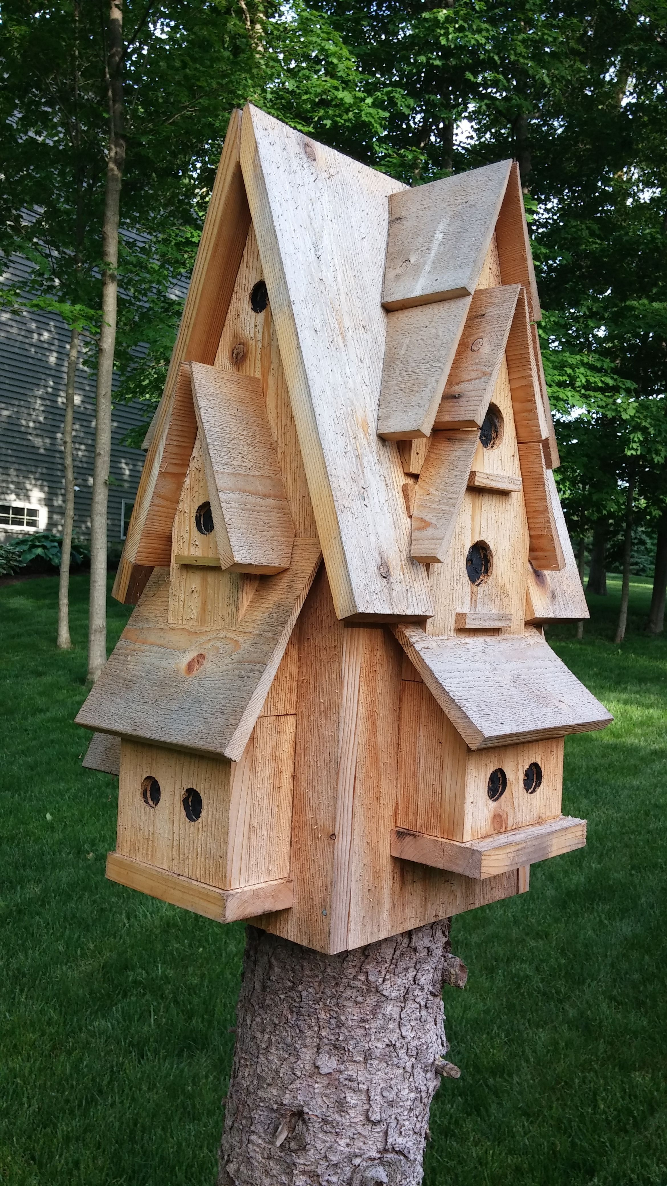 Large Bird House Plans Awesome Pin by John Le Harivel On Garden Sculpture Art