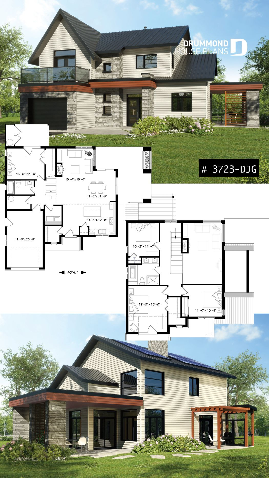 Large Modern House Plans Inspirational Pin On House Plans Ideas