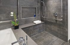 Large Showers Without Doors Elegant Fully Accessible Luxurious Master Bathroom Fit With Large