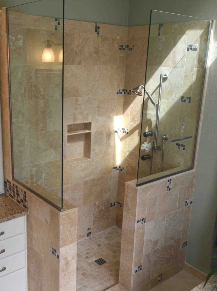 Large Walk In Showers without Doors 2020