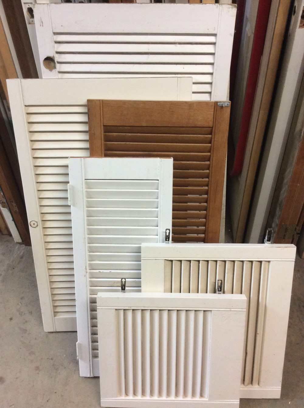 Louvered Cabinet Doors Size