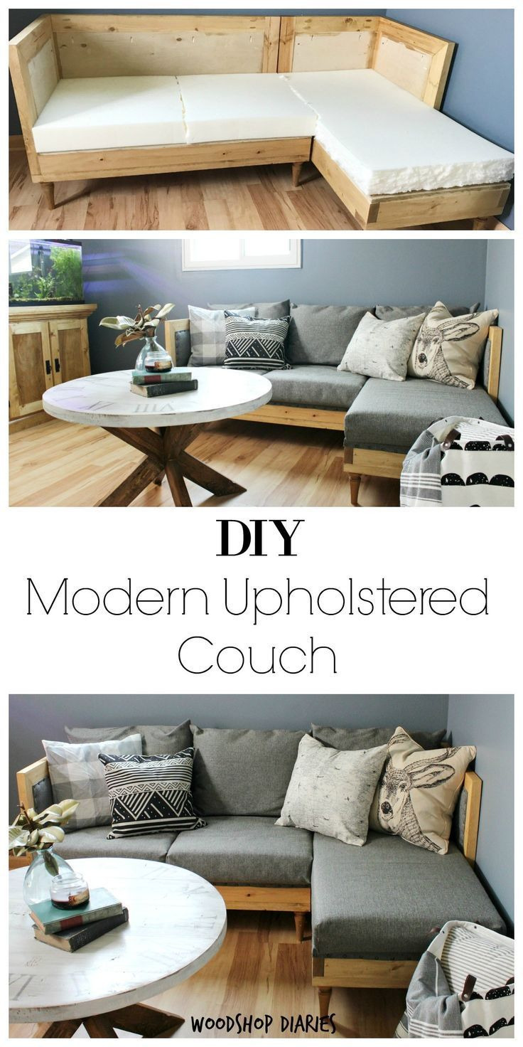 Make Your Own House Plans for Free Lovely Build Your Own Diy Upholstered Couch How to Build Your Own