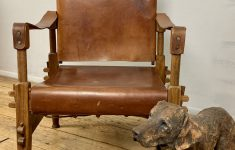 Mid Century Antique Furniture Awesome Mid Century Walnut And Leather Safari Chair – Lovingly Made