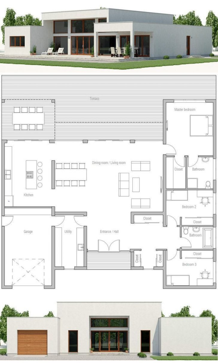 Minimalist House Design Plans 2020